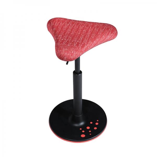 Siège de bureau ergonomique rouge - 15