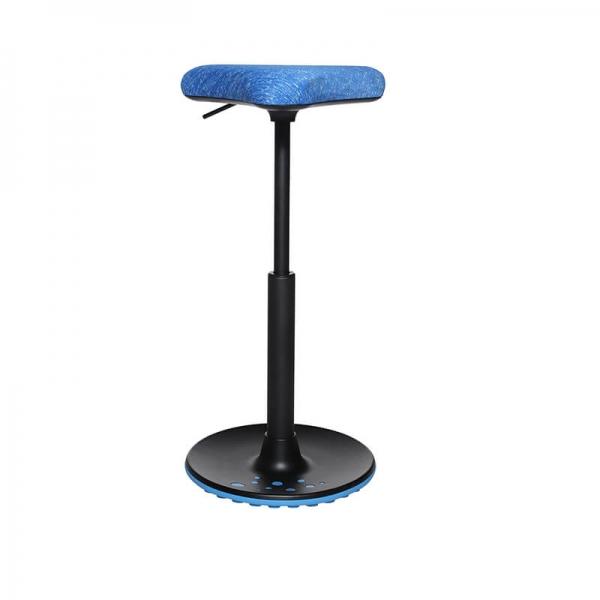 Tabouret ergonomique pour bureau bleu - 29