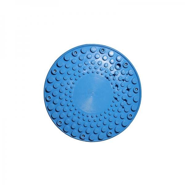 Tabouret ergonomique confortable bleu  - 33