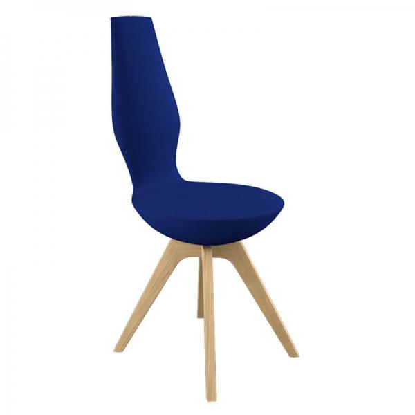 Chaise design de salle à manger en tissu - 5