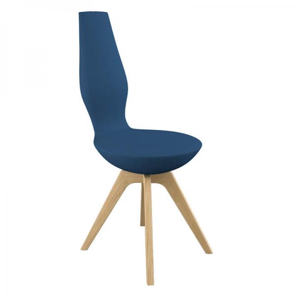 Chaise en tissu pour salle à manger moderne - 11