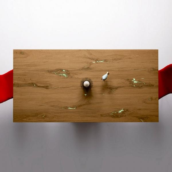 Table rectangulaire design pour salle à manger - 5