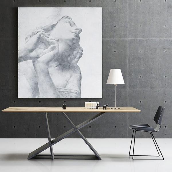 Table design de salle à manger en bois - 2