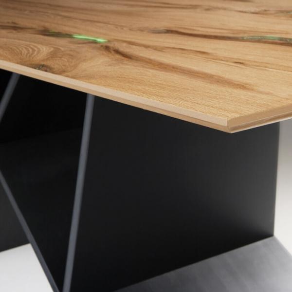 Table de salle à manger design en bois - 6
