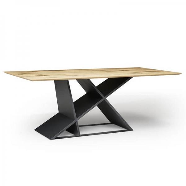 Table rectangulaire moderne et design  - 3