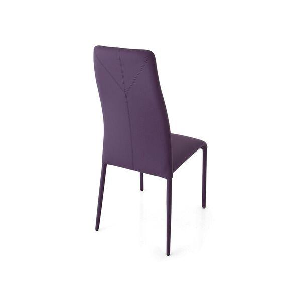 Chaise de salle à manger moderne et empilable - 3