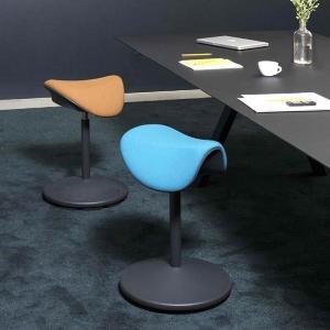 Tabouret de bureau ergonomique et réglable en hauteur en tissu – Motion Varier®