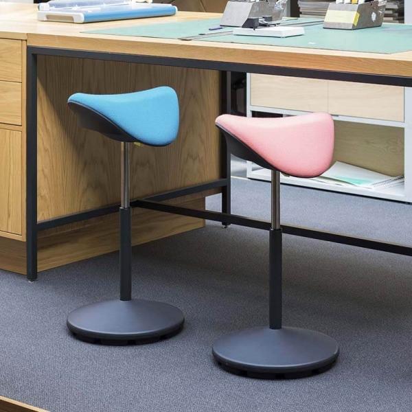 Tabouret de bureau ergonomique et réglable en hauteur en tissu – Motion Varier® - 3