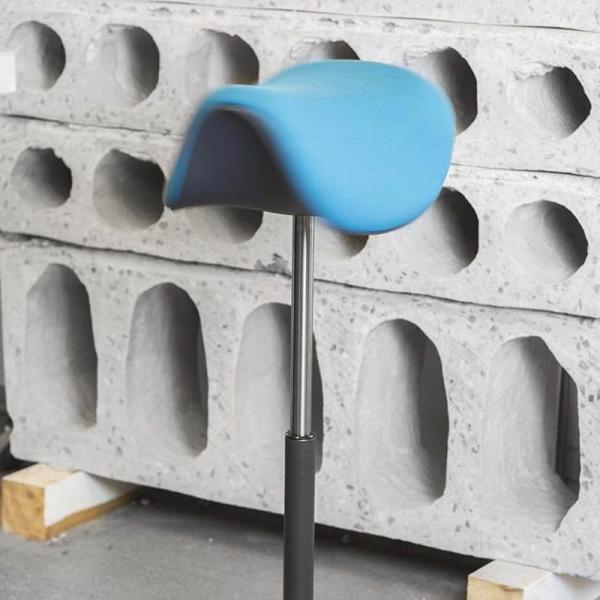 Tabouret nordique ergonomique et réglable en hauteur en tissu – Motion Varier® - 10