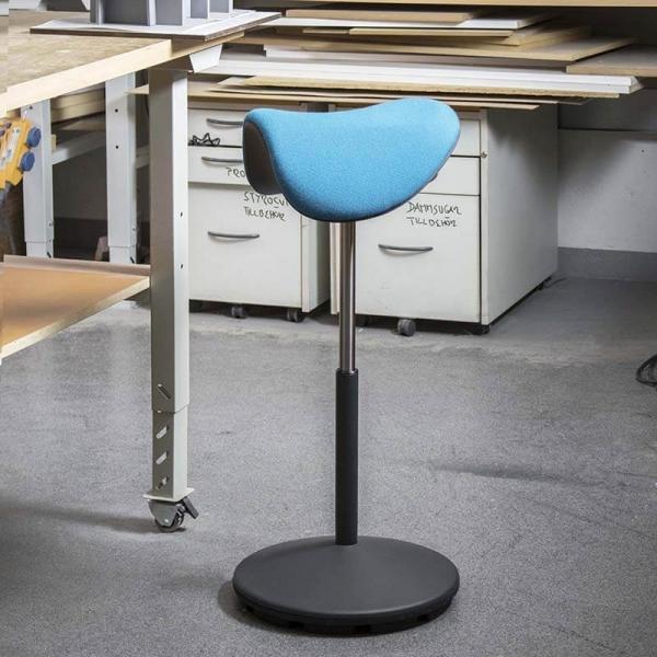 Tabouret ergonomique et réglable en hauteur en tissu – Motion Varier® - 11