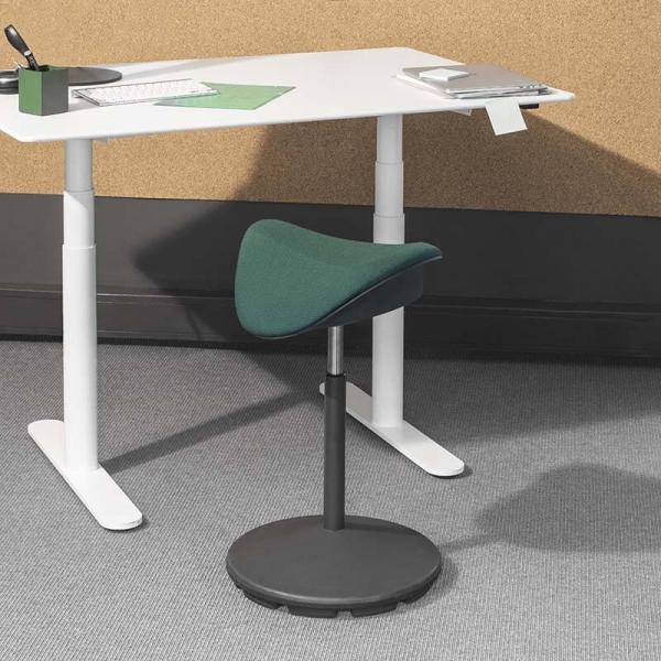 Tabouret ergonomique hauteur réglable en tissu – Motion Varier® - 13