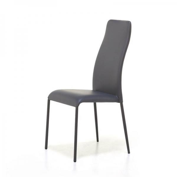 Chaise moderne empilable en synthétique  - 2