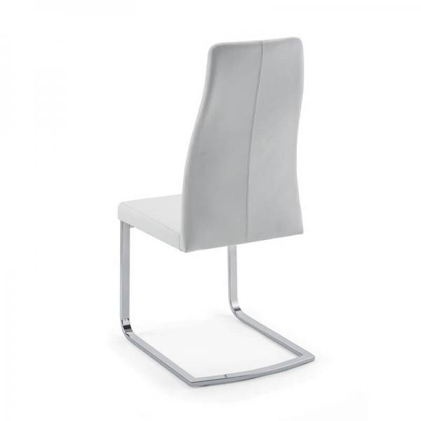 Chaise de séjour blanche pieds luge - Sveva SLH - 3