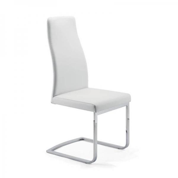 Chaise de salle à manger italienne pieds luge - Sveva SLH - 1
