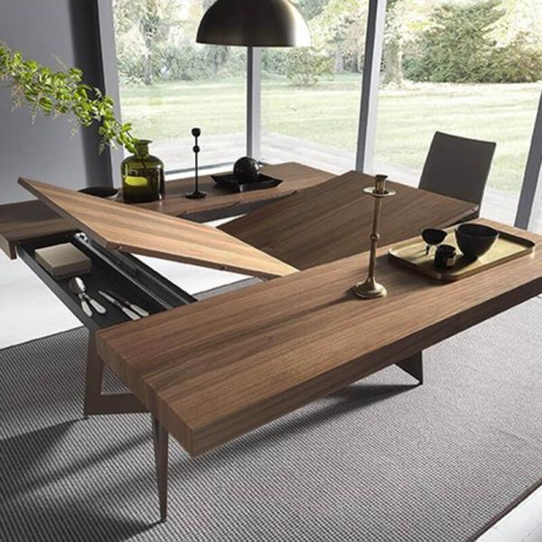 Table extensible design pour salle à manger – Sipario  - 4
