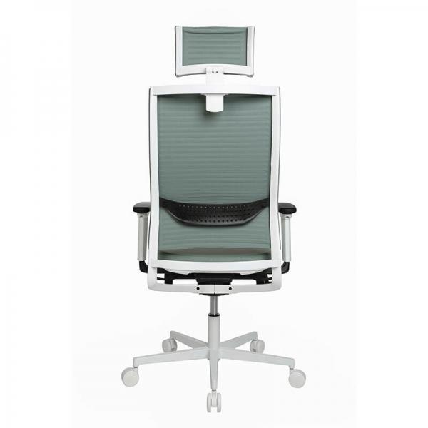 Fauteuil de bureau moderne réglable avec appui tête - Sitness Life 80 - 3