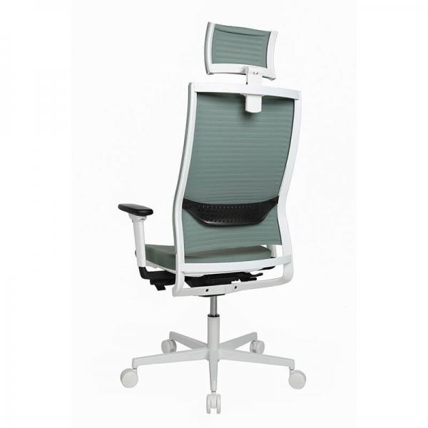 Fauteuil de bureau design réglable avec appui tête - Sitness Life 80 - 5