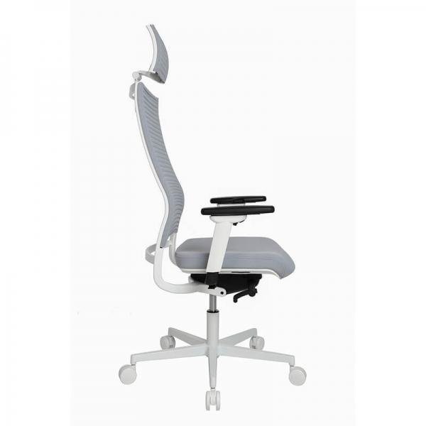 Fauteuil de bureau design réglable avec appui tête - Sitness Life 80 - 9