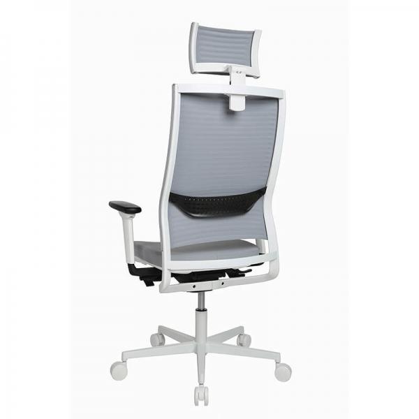 Fauteuil de bureau design réglable avec appui tête - Sitness Life 80 - 10