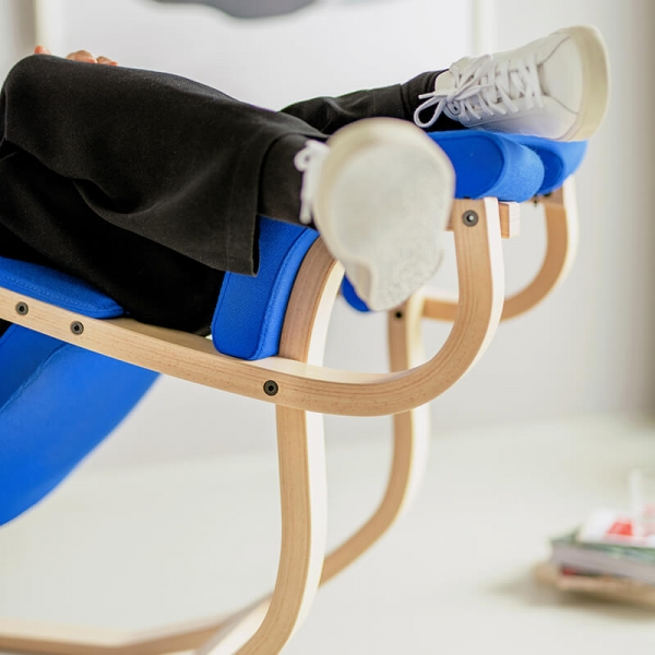 Fauteuil relax à bascule bleu- Gravity Varier® - 6