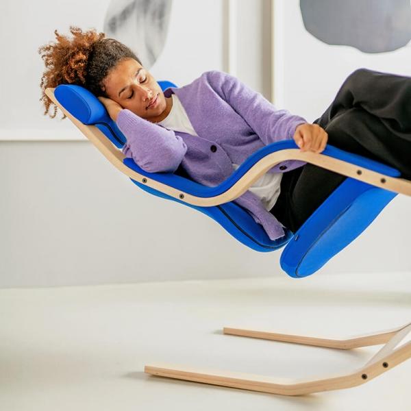Fauteuil ergonomique bleu- Gravity Varier® - 4
