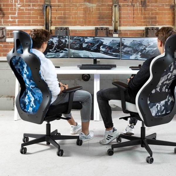 Chaise gaming confortable avec assise dynamique - Sitness RS Sport Plus - 53