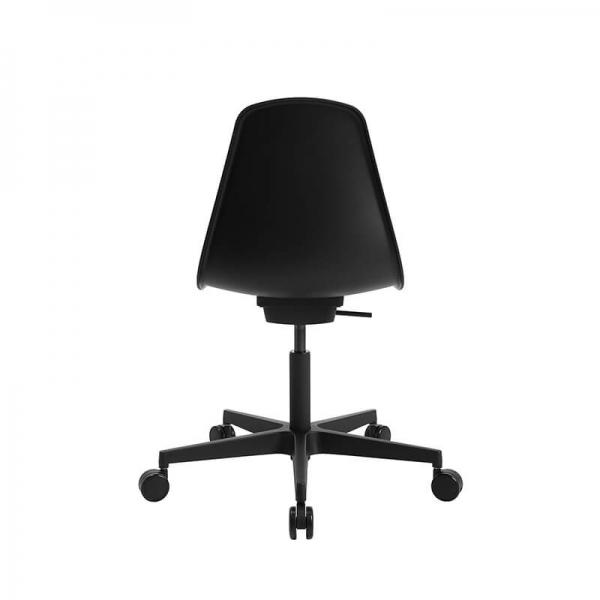 Chaise de bureautique avec roulettes noire - Sitness life 10 - 11