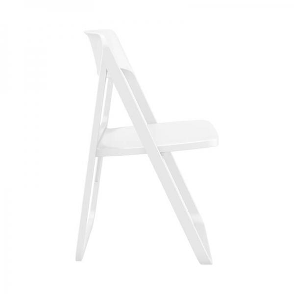 Chaise de jardin pliante blanche moderne - Dream - 7