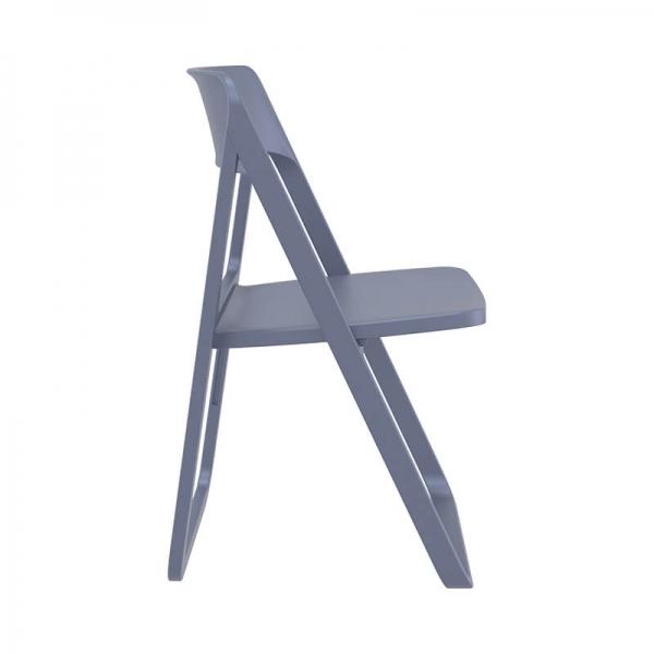 Chaise d'extérieur pliante grise  - Dream - 12