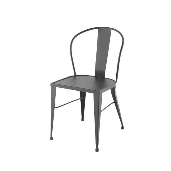 Chaise de jardin industrielle en métal - 531 - 2