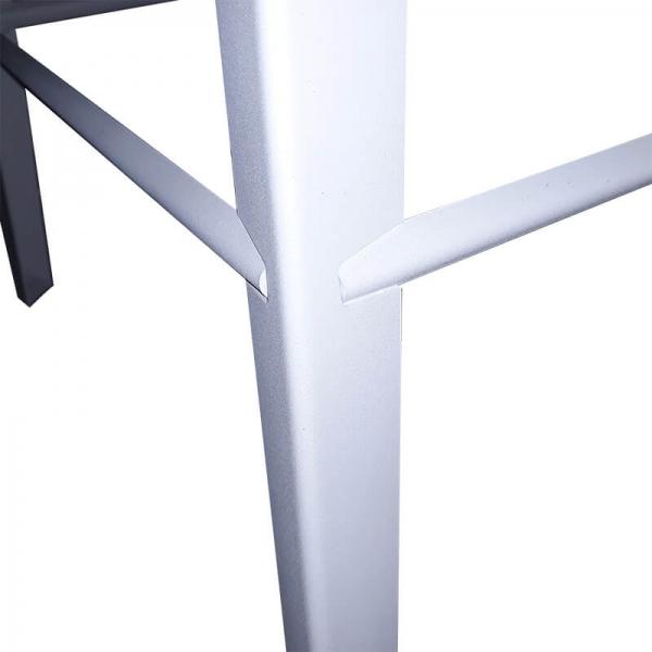 Tabouret snack industriel en métal - Valence 2 - 5