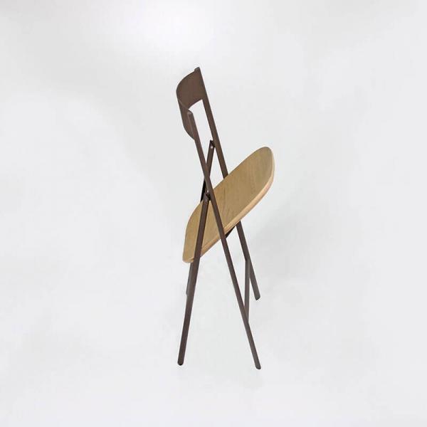 Chaise en métal pliable de cuisine - 2
