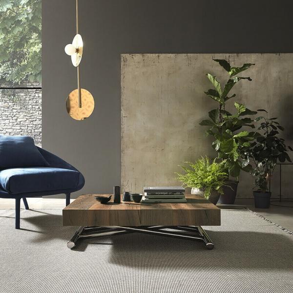 Table extensible modulable en hauteur moderne - 3