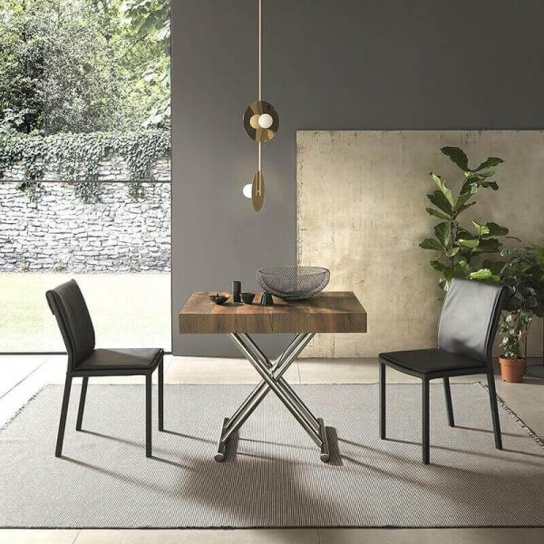 Table design relevable avec allonges - 4