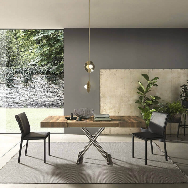 Table moderne en bois extensible et relevable  - 5