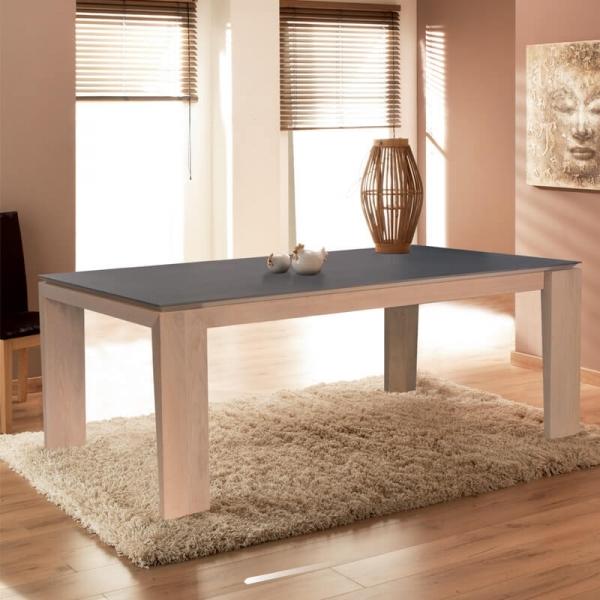 Table extensible en céramique fabriquée en France - Bakou - 1