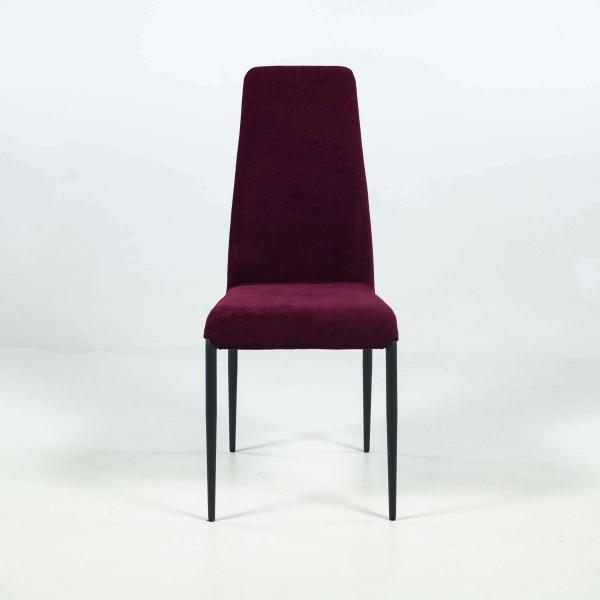 Chaise moderne en tissu et pieds en métal - Mirta - 2