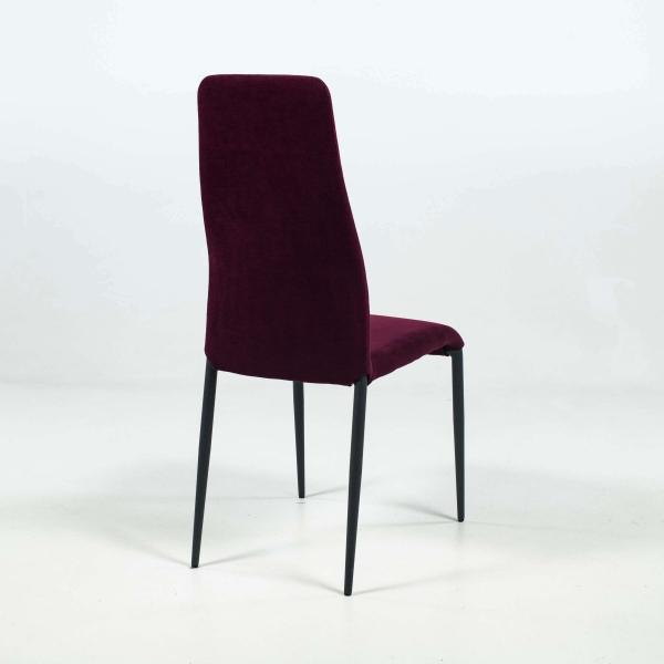 Chaise moderne en tissu et pieds en métal - Mirta - 5