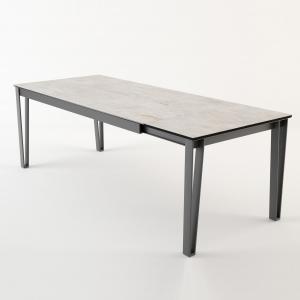 Table de salle à manger extensible en céramique