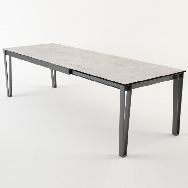 Table de salle à manger moderne en céramique extensible - 2