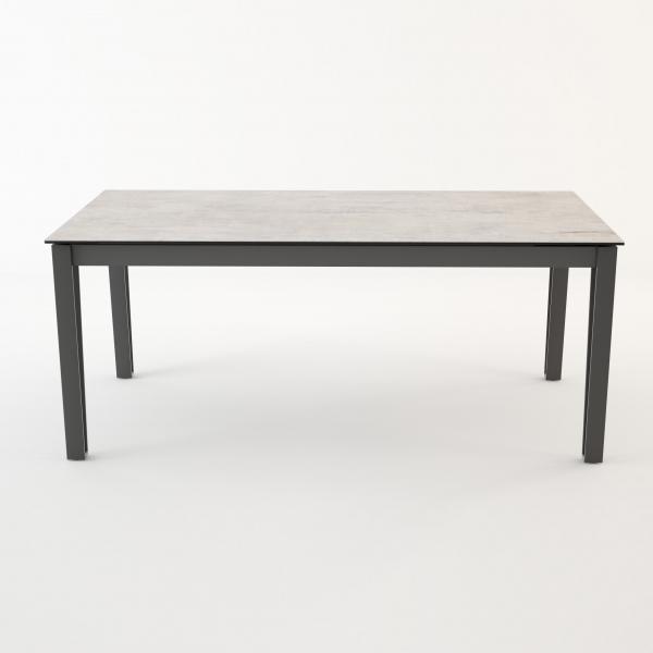 Table de salle à manger moderne en céramique avec allonges - 4