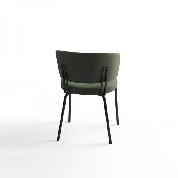 Chaise confortable en tissu - 4