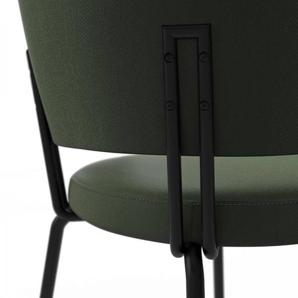 Chaise tendance en tissu - 5