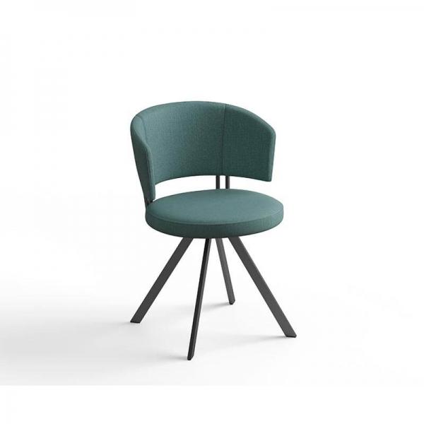 Chaise pivotante en tissu - 2