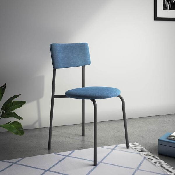 Chaise de cuisine en tissu moderne - 1