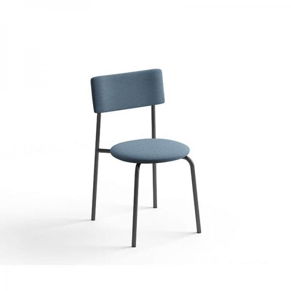 Chaise moderne en tissu - 3