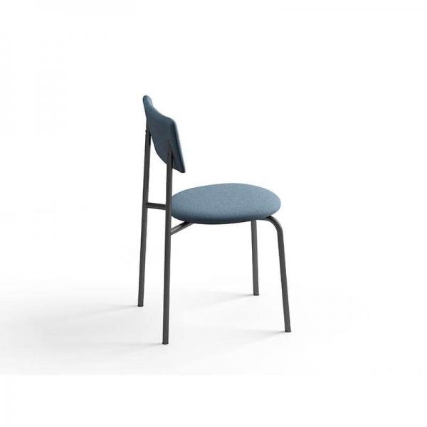 Chaise moderne confortable en tissu - 8