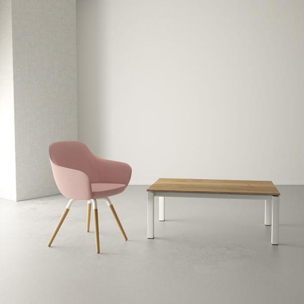 Table basse de salon moderne en stratifié  - 1