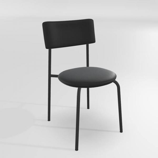 Chaise moderne en synthétique  - 7