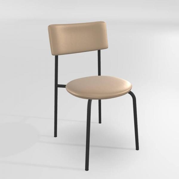 Chaise en synthétique moderne  - 9